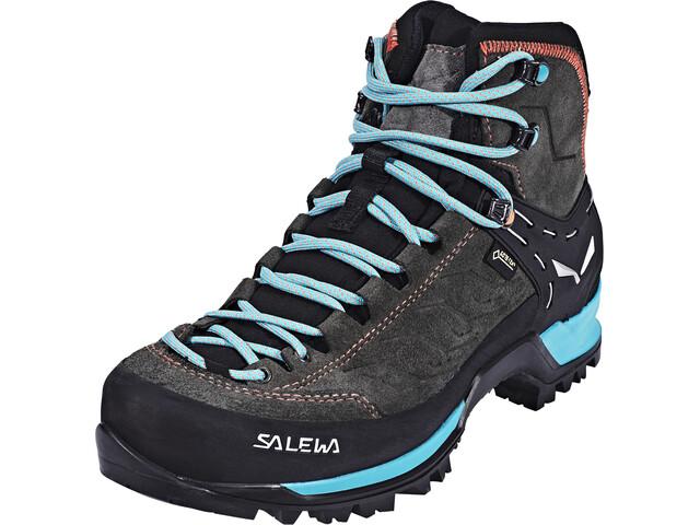 2bd838f6d1e SALEWA MTN Trainer Mid GTX Shoes Women magnet/viridian green